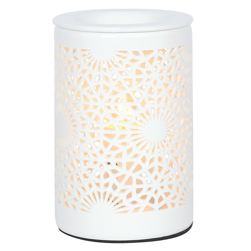 Lace Cut Out Electric Oil Burner