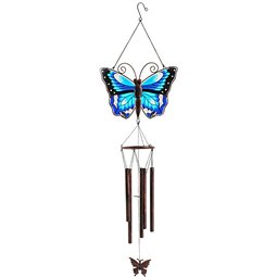 Bird Twin Windchime